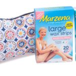 Marzena large sensitive waxing strips and sensitive hair removal lotion - Lena talks beauty