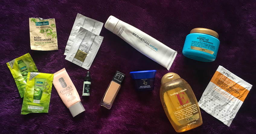 OGX, Schwarzkopf, Palmolive, Maybelline, Clinique, Far Botanicals, Za, hi-pro-pac, sebastien reviews - Lena Talks Beauty