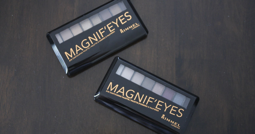 Rimmel London Magnif'eyes eyeshadow palettes review by Lena Talks Beauty