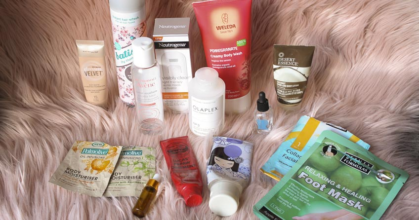 Lena Talks Beauty Empties - August and September