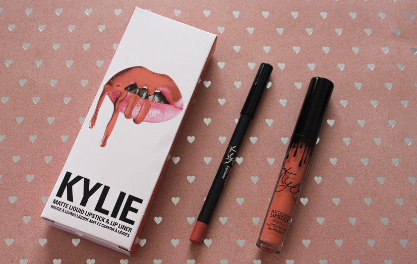 Kylie Cosmetics Dirty Peach Lip Kit Review - Lena Talks
