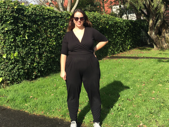 caaf14c3792 ASOS Curve jumpsuit styled casual